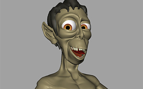 Ghoul Character – Modeling and Rigging